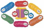 Jolly Phonics Tricky Word Wall Flowers (in Print Letters) - Sue Lloyd