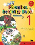 Jolly Phonics Activity Book 1 (in Print Letters) - Sara Wernham