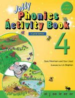 Jolly Phonics Activity Book 4 (in Print Letters) - Sara Wernham