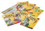 Jolly Phonics Activity Books 1-7 (in Print Letters) - Sara Wernham