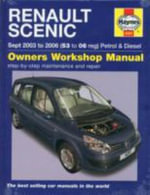 Renault Scenic Petrol and Diesel Service and Repair Manual : 2003 to 2006 - R. M. Jex
