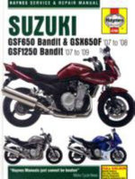 Suzuki GSF650/1250 Bandit and GSX650Fservice and Repair Manual : 2007 to 2009 - Phil Mather