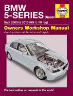 BMW 5-Series Diesel Service and Repair Manual : 2003 to 2010 - Martynn Randall