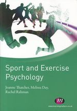 Sport and Exercise Psychology - Joanne Thatcher