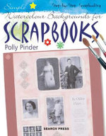 Simple Watercolour Backgrounds for Scrapbooks : Step-By-Step Scrapbooking - Polly Pinder