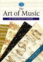 The Art of Music : 24 Perforated Papers
