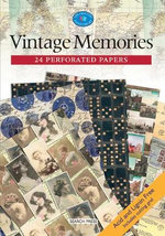 Vintage Memories : 24 Perforated Papers