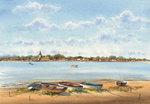 Boats at Bosham Quay - Geoff Kersey