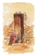 Country Cottage Door - Terry Harrison