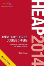 HEAP : University Degree Course Offers 2014 - Brian Heap