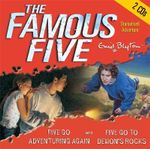 Five Go Adventuring Again : AND Five Go to Demon's Rocks - Enid Blyton