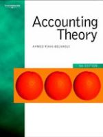 Accounting Theory - Ahmed Riahi-Belkaoui