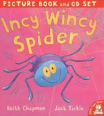 Incy Wincy Spider : Includes CD