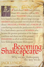 Becoming Shakespeare - Jack Lynch