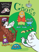 Ghosts : Spooky stickers - Joe Stites