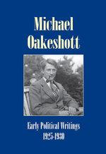 Early Political Writings 1925-30 - Michael Oakeshott