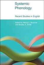 Systemic Phonology : Recent Studies in English