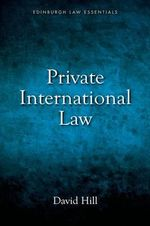 Private International Law Essentials - David Hill
