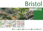 Bristol PopOut Map - Footprint Travel Guides