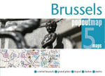 Brussels PopOut Map - Footprint Travel Guides