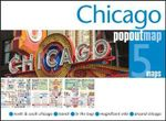 Chicago Popout Map : Popout Maps   - Popout Maps