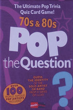 Pop the Question : 70s and  80s - Music Sales Corporation
