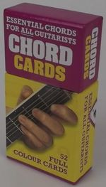 Chord Cards : Essential Chords for all Guitarists - 52 Full Colour Cards