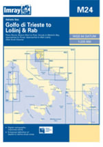 Imray Chart M24 2008 : Golfo Di Trieste to Losinj and Rab - Imray