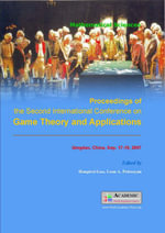 Proceedings of the Second Conference on Game Theory and Applications