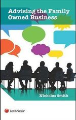 Advising the Family Run Business - Nicholas Smith
