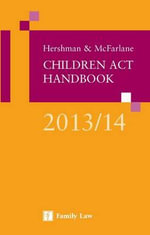 Hershman & McFarlane : Children Act Handbook 2013/14 - Andrew McFarlane