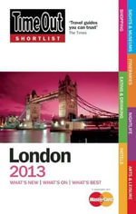 Time Out Shortlist London 2013 - Time Out Guides Ltd