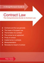 A Straightforward Guide to Contract Law - Peter Clarke