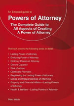 Powers Of Attorney - Peter Wade