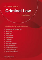 Criminal Law - Peter Robinson