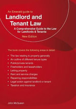 Landlord and Tenant Law : The Instructional Classic - John McQueen