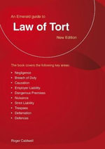 Law of Tort - Roger Caldwell