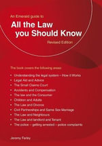 All the Law You Should Know - Jeremy Farley