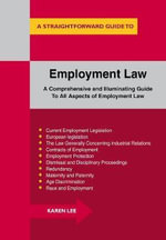 Straightforward Guide to Employment Law - Karen Lee