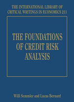 The Foundations of Credit Risk Analysis : Experience in Bangladesh