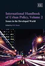 International Handbook of Urban Policy Volume Ii Issues in the Developed World
