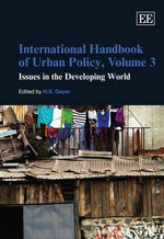 International Handbook of Urban Policy Volume Iii Issues in the Developing World
