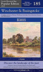 Winchester and Basingstoke : Cassini Popular Edition Historical Map