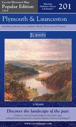 Plymouth and Launceston : Cassini Popular Edition Historical Map