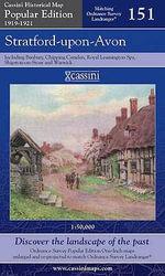 Stratford-upon-Avon : Cassini Popular Edition Historical Map