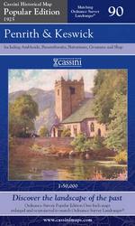 Penrith and Keswick : Cassini Popular Edition Historical Map