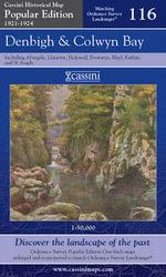 Denbigh and Colwyn Bay : Cassini Popular Edition Historical Map