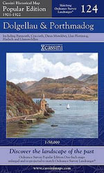 Dolgellau and Porthmadog : Cassini Popular Edition Historical Map