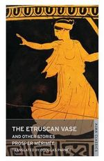 The Etruscan Vase and Other Stories - Prosper Merimee
