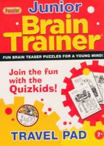 Brain Trainer Junior : Fun Brain Teaser Puzzles For A Young Mind!